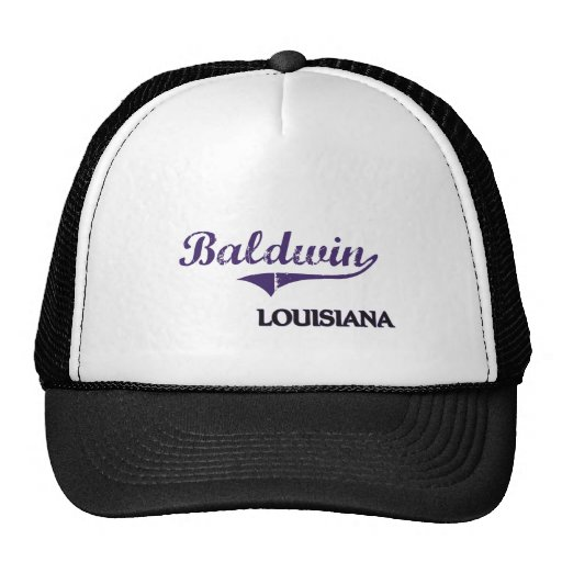 Obra clásica de la ciudad de Baldwin Luisiana Gorros