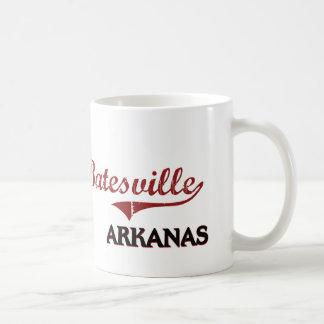 Obra clásica de la ciudad de Batesville Arkansas Taza De Café