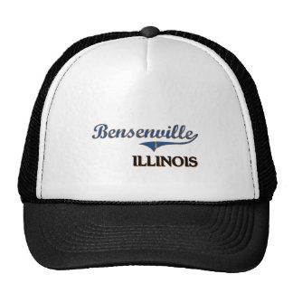 Obra clásica de la ciudad de Bensenville Illinois Gorros