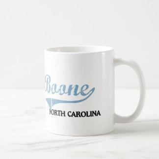 Obra clásica de la ciudad de Boone Carolina del No Taza