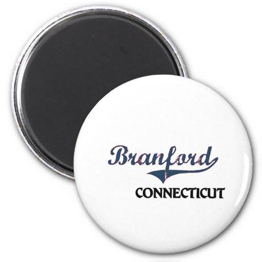 Obra clásica de la ciudad de Branford Connecticut Iman