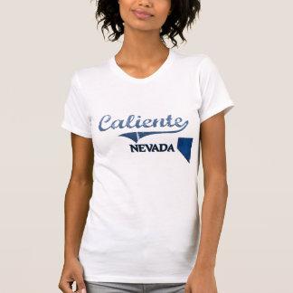 Obra clásica de la ciudad de Caliente Nevada Camisetas