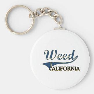 Obra clásica de la ciudad de California de la mala Llaveros Personalizados