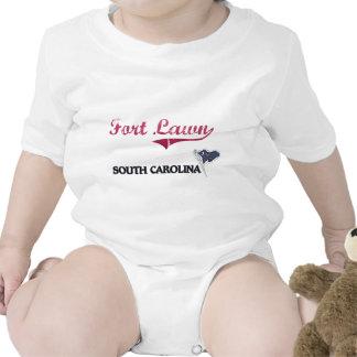 Obra clásica de la ciudad de Carolina del Sur del Trajes De Bebé