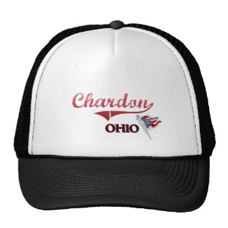Obra clásica de la ciudad de Chardon Ohio Gorro