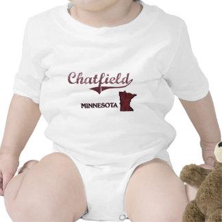 Obra clásica de la ciudad de Chatfield Minnesota Trajes De Bebé