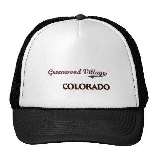 Obra clásica de la ciudad de Colorado del pueblo d Gorras De Camionero