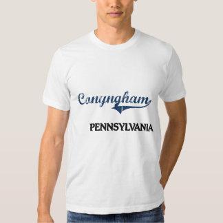 Obra clásica de la ciudad de Conyngham Camisas