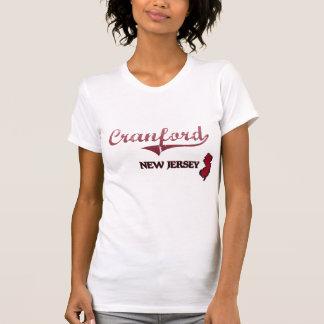Obra clásica de la ciudad de Cranford New Jersey Camisetas