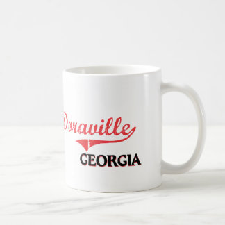 Obra clásica de la ciudad de Doraville Georgia Taza Básica Blanca