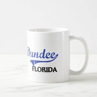 Obra clásica de la ciudad de Dundee la Florida Taza Básica Blanca