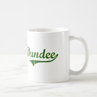 Obra clásica de la ciudad de Dundee Oregon Taza Básica Blanca