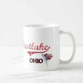 Obra clásica de la ciudad de Eastlake Ohio Tazas