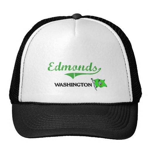 Obra clásica de la ciudad de Edmonds Washington Gorra