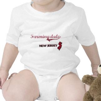 Obra clásica de la ciudad de Farmingdale New Traje De Bebé