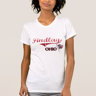 Obra clásica de la ciudad de Findlay Ohio Camiseta