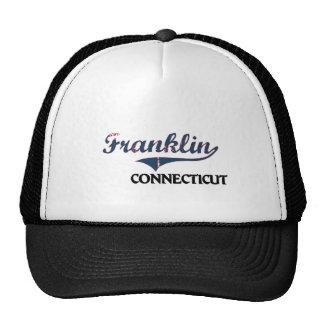 Obra clásica de la ciudad de Franklin Connecticut Gorro