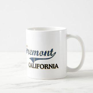 Obra clásica de la ciudad de Fremont California Tazas