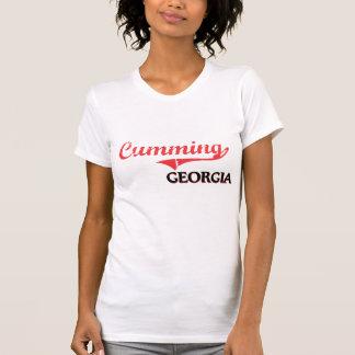 Obra clásica de la ciudad de Georgia del Cumming Camiseta