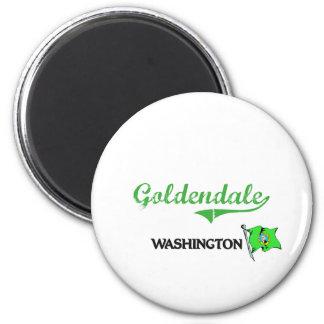 Obra clásica de la ciudad de Goldendale Washington Iman De Nevera