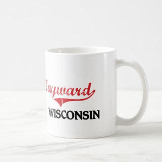 Obra clásica de la ciudad de Hayward Wisconsin Taza Clásica