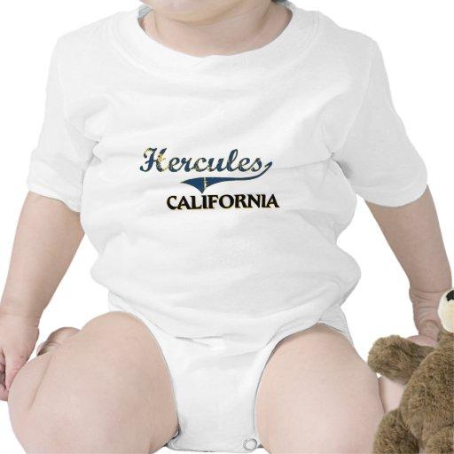 Obra clásica de la ciudad de Hércules California Traje De Bebé