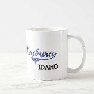 Obra clásica de la ciudad de Heyburn Idaho Taza