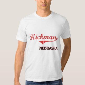 Obra clásica de la ciudad de Hickman Nebraska Playeras