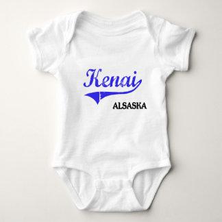 Obra clásica de la ciudad de Kenai Alaska Camisetas