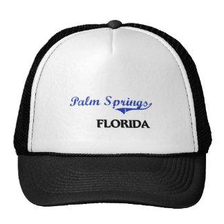 Obra clásica de la ciudad de la Florida del Palm S Gorro