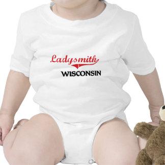 Obra clásica de la ciudad de Ladysmith Wisconsin Trajes De Bebé