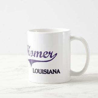 Obra clásica de la ciudad de Luisiana del home run Tazas
