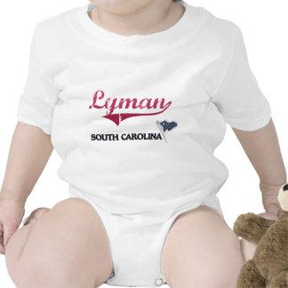 Obra clásica de la ciudad de Lyman Carolina del Su Traje De Bebé