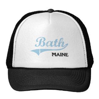 Obra clásica de la ciudad de Maine del baño Gorro De Camionero