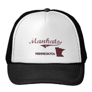 Obra clásica de la ciudad de Mankato Minnesota Gorro