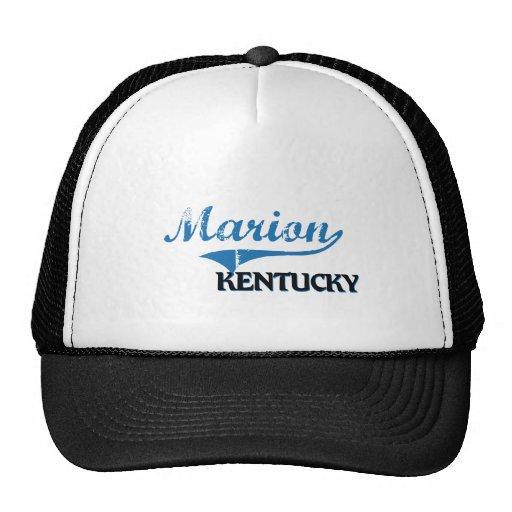 Obra clásica de la ciudad de Marion Kentucky Gorro