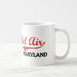 Obra clásica de la ciudad de Maryland del Bel Air Taza Básica Blanca