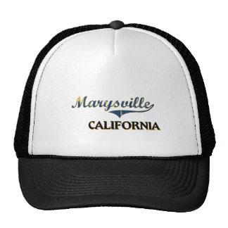 Obra clásica de la ciudad de Marysville California Gorro