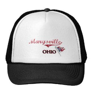 Obra clásica de la ciudad de Marysville Ohio Gorros Bordados