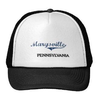 Obra clásica de la ciudad de Marysville Pennsylvan Gorras