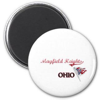 Obra clásica de la ciudad de Mayfield Heights Ohio Iman De Frigorífico