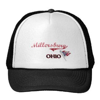 Obra clásica de la ciudad de Millersburg Ohio Gorro De Camionero
