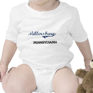 Obra clásica de la ciudad de Millersburg Trajes De Bebé