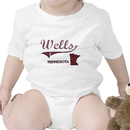 Obra clásica de la ciudad de Minnesota de los Trajes De Bebé