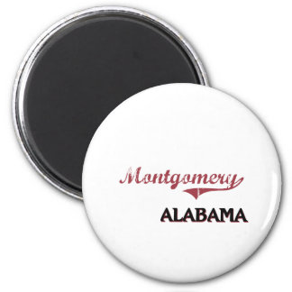 Obra clásica de la ciudad de Montgomery Iman Para Frigorífico