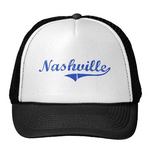 Obra clásica de la ciudad de Nashville Gorras