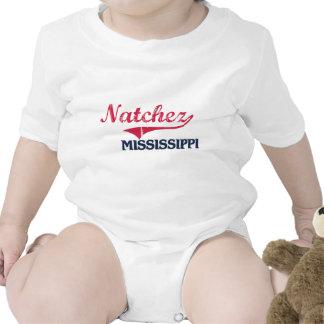 Obra clásica de la ciudad de Natchez Mississippi Trajes De Bebé