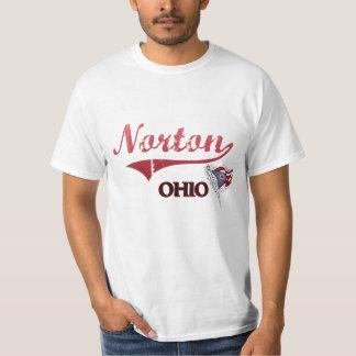 Obra clásica de la ciudad de Norton Ohio Camisas
