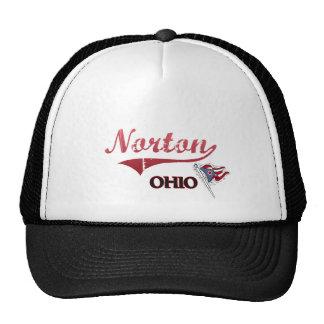 Obra clásica de la ciudad de Norton Ohio Gorro