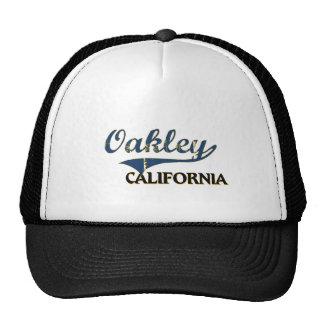 Obra clásica de la ciudad de Oakley California Gorra